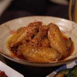 韓国家庭料理 青山 - 手羽煮