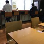 グッドタイムズ・カフェ - 店内。分煙です。