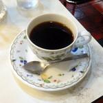 メイプル - ドリンク写真:朝定食コーヒー付き580円