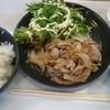 花咲か食堂 - 料理写真:甘辛醤油だれ生姜焼き定食