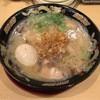 豚とろ - 料理写真:半熟煮玉子入り豚とろラーメン 870円