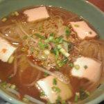 5105387 - 豚挽肉のピリ辛フォー