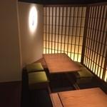 炭火焼鳥 西田屋 - 12名様まで入れる個室