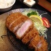 豚珍館 - 料理写真:16/5/15 特選上ロースカツ定食