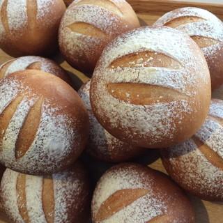 北海道産小麦粉「ゆめちから」で作ったパン