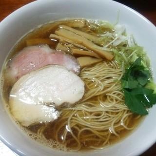 寛~くつろぎ~ - 料理写真:煮干しそば(\700)