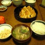 鉄なべ - 貝汁定食