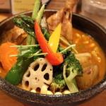 51117460 - 知床鶏と野菜