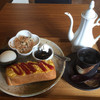 るるかふぇ - 料理写真:ホットコーヒー400円とたまご&ケチャップトーストセット