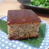 豆子郎 - 料理写真:松風 味噌の味はごくごくわずか 上層は羊羹です
