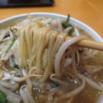 王家餃子 - 中細麺