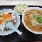 重松飯店 - 料理写真:Cセット@750円(税抜き)