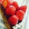カフェ ナカアカリ - 料理写真:苺のタルト