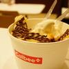 カルビープラス - 料理写真:ロイズのチョコ味+ソフトクリーム (¥460)