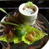 ぬなわや - 料理写真:蓴菜の白和え、三田牛のアキレス腱、青梅