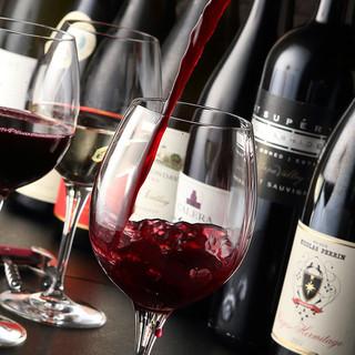 鉄板焼き×ワイン!お料理を引き立てる厳選ワインをご用意