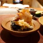 天ぷら 元吉 - 海苔天ぷら、TKG、のどぐろ、おろし