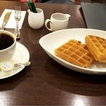 カフェリブロ - ☆ワッフル&コーヒー☆ブランチ