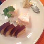チャボーラ - チーズ盛り合わせ