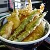 そば処 山乃屋 - 料理写真:エビ天丼。