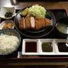 とんかつ川久 - 料理写真:黒豚ロースカツ 150g 1900円