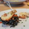 トラットリア フラテッリ ガッルーラ - 料理写真:『 イカ墨を練りこんだシャラテッリ 』手長海老と三河産魚介のトマトソース☆