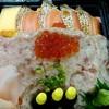 三松寿司 - 料理写真:サーモンとネギまぐろちらし