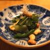 高太郎 - 料理写真:お通し (静岡産無農薬野菜と国産大豆のおひたし)