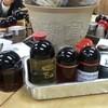 一平ソバ - 料理写真:調味料充実!素晴らしい! 2016.5
