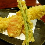 遊喜 - 穴子と野菜天