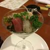 びすとろK - 料理写真:カクテルグラスにカルパッチョ