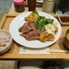 ロヂウラ食堂 - 料理写真:タン焼きと鶏南蛮定食