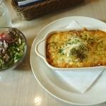 ボブズ カフェ - 料理写真:ボブズ カフェ@御殿場 ミードドリア ボローニャ風 たまご付き