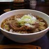 堀留屋 - 料理写真:肉そば(平打ち麺、大)