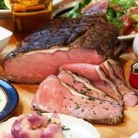 絶品!日替わりの塊肉ロースト&ビストロ料理