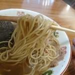 つけ麺 冨 - 麺 (中華そば)
