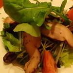 蔵王 - H28.5   自家製スモークチキンのサラダ