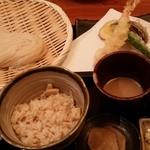 稲庭うどん 鴇 - 2016.5 天ぷらセット