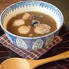 青家 - 料理写真:温かい黒糖ぜんざい700円 美味しい甘味をちょっとだけ欲しかったので。。コスパははっきり言って良くないw