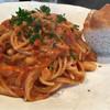 MAMMA - 料理写真:仔牛ミンチと白インゲン豆のラグーソーススパゲッティ(1200円)
