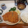 わらじ亭 - 料理写真:わらじカツセット