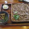 石臼自家挽き蕎麦 みなもと - 料理写真:<2016年5月>十割蕎麦 倍鴨せいろ 1,900円