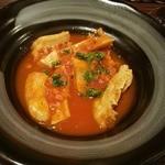 マチバル - トリッパのトマト煮こみ
