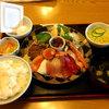 仲家 - 料理写真:刺身盛り定食714円