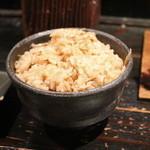 山元麺蔵 - 炊き込みご飯
