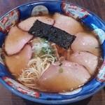 51320244 - チャーシューミックスワンタンメン(麺を出してみる)