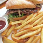 tcc Steak & Seafood - tccステーキ・サンドウィッチ 1600円