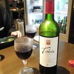 愉快酒場 - 赤ワイン(カベルネ・ソーヴィニヨン)