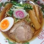 麺中夢中 - 王道の中華そば700円