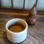 そば処 こやぶ - 蕎麦茶でホッと一息。2010.7
